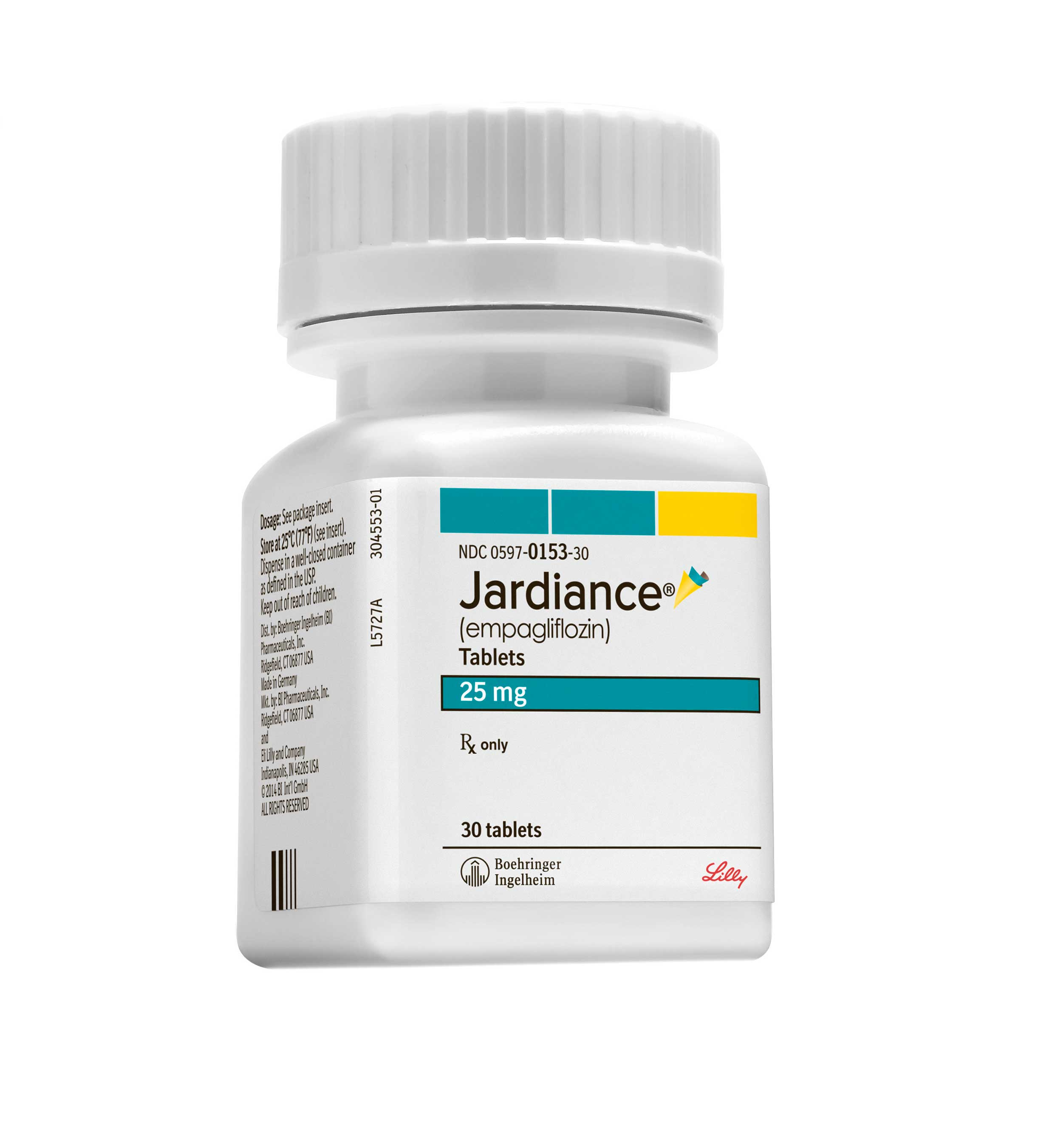 Empagliflozin tabletter til diabetes Jardiance