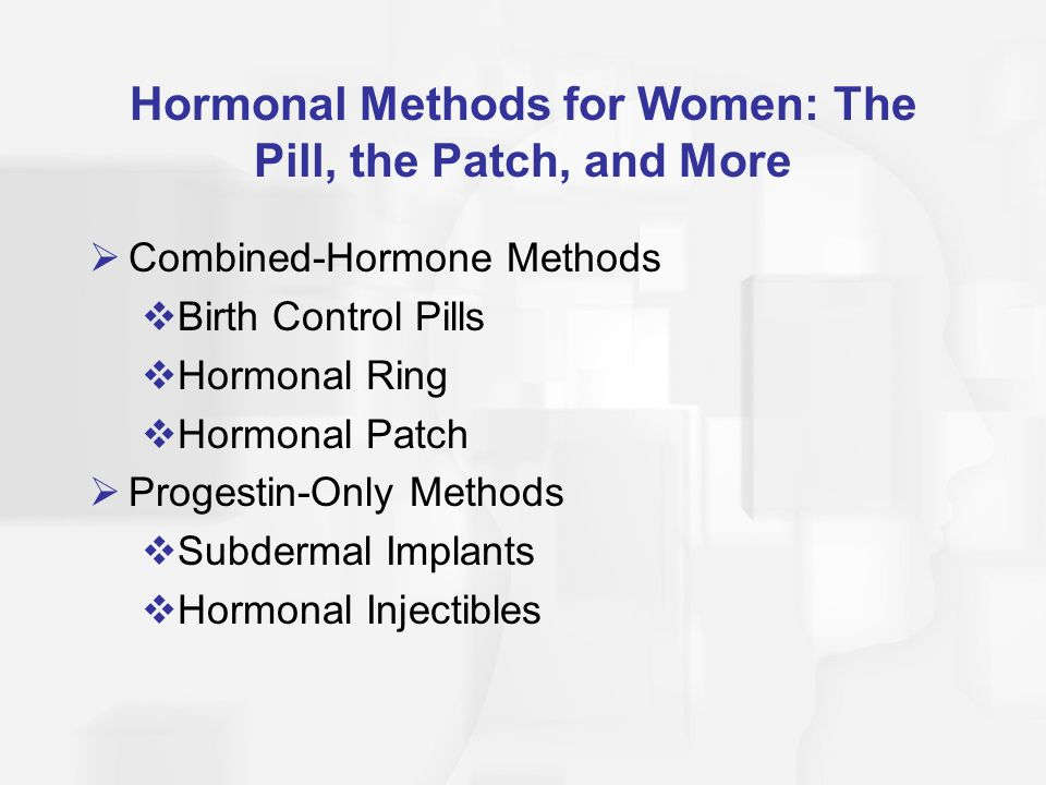 Contraceptive hormonale combinate, Patch, inel vaginal