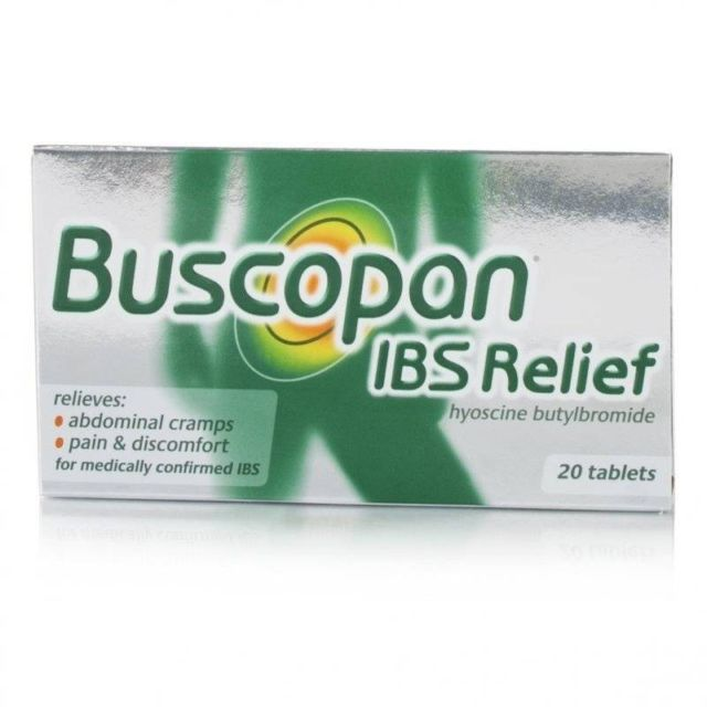 Hyoscine butylbromide tabletes Buscopan