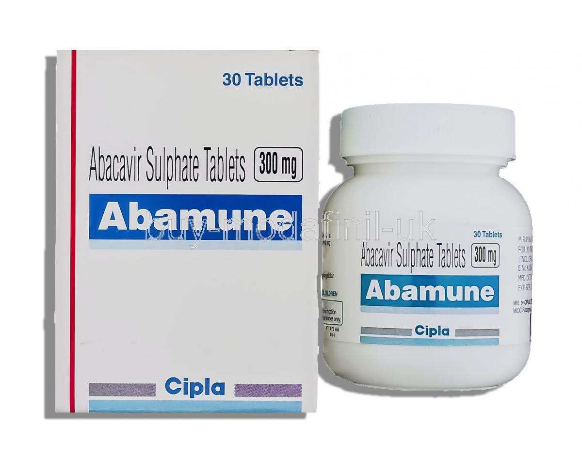 Abacavir for HIV Ziagen